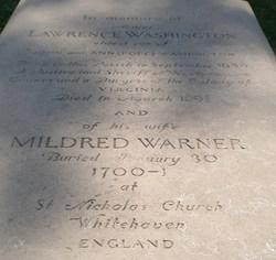 Mildred <i>Warner</i> Washington