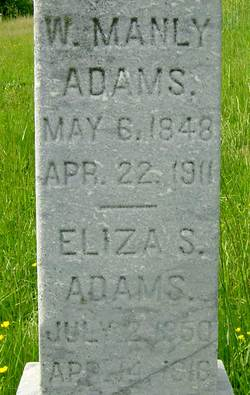 Eliza Sarah <i>Johns</i> Adams