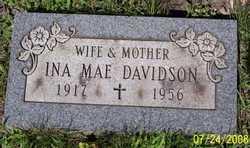 Ina Mae <i>Blakley</i> Davidson