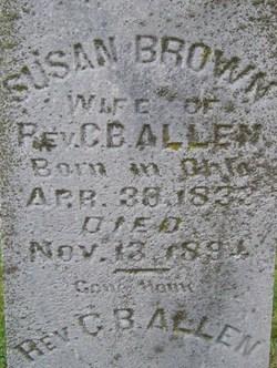 Susan <i>Brown</i> Allen
