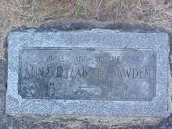 Anna Elizabeth <i>Seibel</i> Bawden