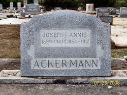Annie <i>Renz</i> Ackermann