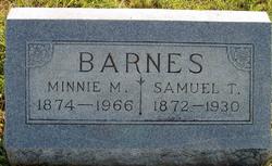 Minnie Mae <i>Stone</i> Barnes