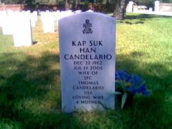 Kap Suk <i>Han</i> Candelario