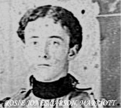 Rosie Jones <i>Carson</i> Marriott