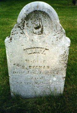 Mary <i>Dickinson</i> Beeman