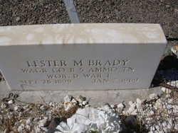 PFC Lester M. Brady