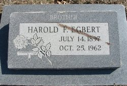Harold F. Egbert