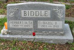 Hazel <i>Brittain</i> Biddle
