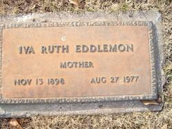 Iva Ruth <i>Evans</i> Eddlemon
