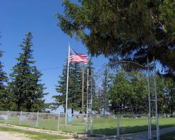 Hegre Church Cemetery