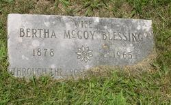 Bertha May <i>McCoy</i> Blessing