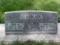Frederick William Fred Lundblade