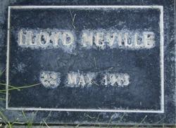 Lloyd Neville