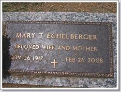 Mary Louise <i>Thurston</i> Echelberger