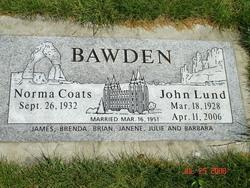 John Lund Bawden