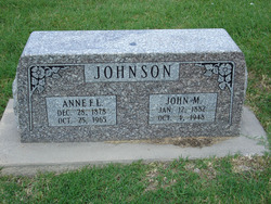 Anne Faux Annie <i>Longson</i> Johnson