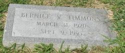 Bernice V Timmons