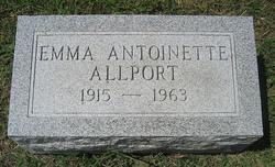 Emma Antoinette Allport