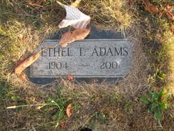 Ethel Thera <i>Camfield</i> Adams