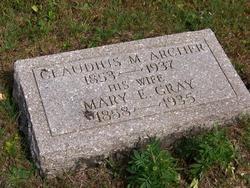 Claudius M Archer