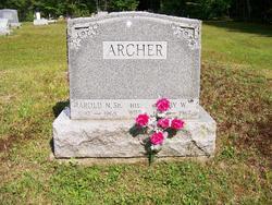 Harold N Archer, Sr.