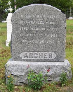 Frances Martha <i>Williams</i> Archer