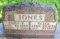 Eliza Jane <i>Fields</i> Jones