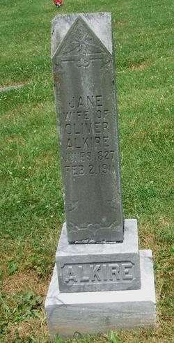 Jane <i>Carter</i> Alkire