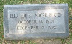 Ella Louise <i>Moore</i> Buxton