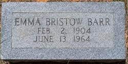 Emma <i>Bristow</i> Barr