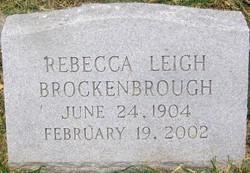 Rebecca <i>Leigh</i> Brockenbrough