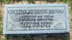 Cholena <i>Richards</i> Brooks