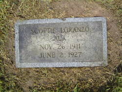 Scottie Loranzo Ala