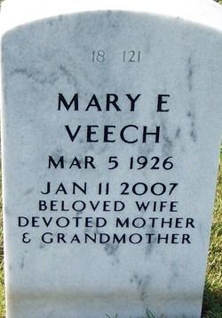 Mary E. Chickie <i>Canberg</i> Veech