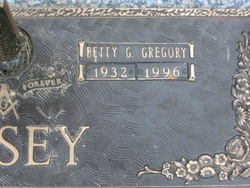 Betty Geraldine <i>Gregory</i> Casey