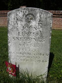 Pvt John Lester Snellings