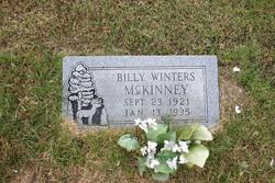 Billy Winters McKinney