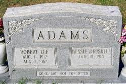 Bessie <i>Driskill</i> Adams