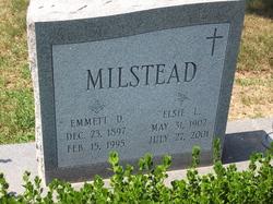 Emmett D Milstead