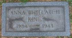 Anna <i>Whitlatch</i> King