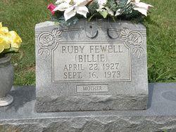 Ruby Alvelda Billie <i>Johnson</i> Fewell