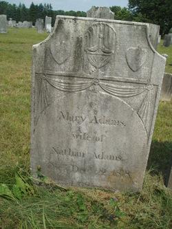 Mary <i>Wright</i> Adams