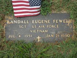 Sgt Randell Eugene Randy Fewell