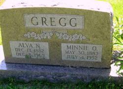 Minnie O'dell <i>Nichols</i> Gregg
