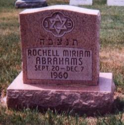 Rochell Miriam Abrahams
