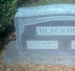 Louis James Blackburn