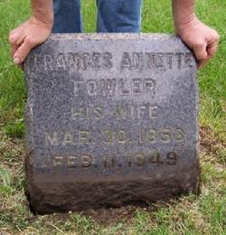 Frances Annette <i>Fowler</i> Wilder