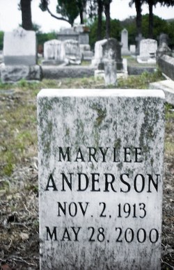 Mary <i>Lee</i> Anderson