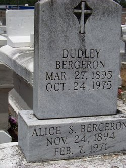 Alice <i>Sonnier</i> Bergeron